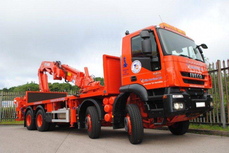 Titan appoints T&C Site Services as UK dealer