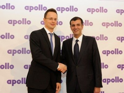 Hungary confirmed for first Apollo greenfield factory outside India