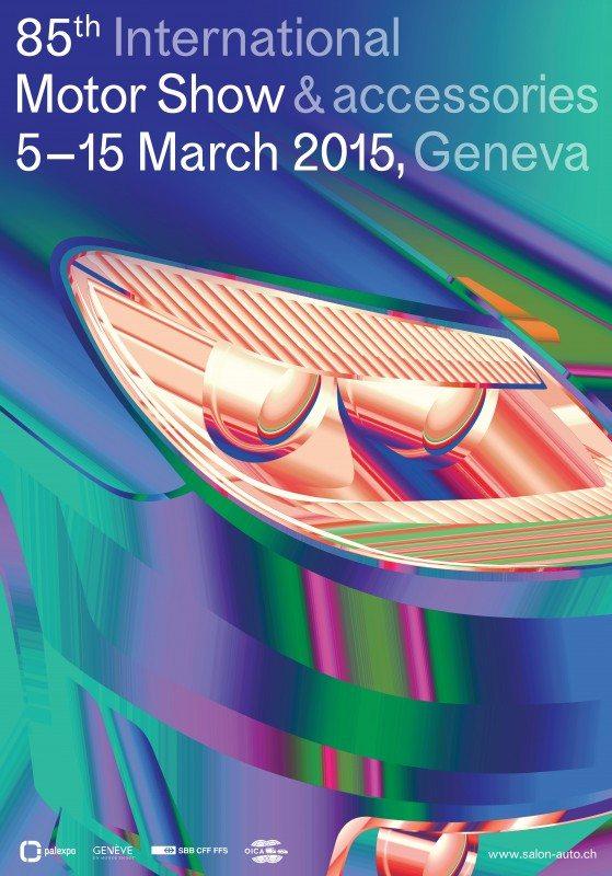 Geneva Motor Show unveils 2015 poster