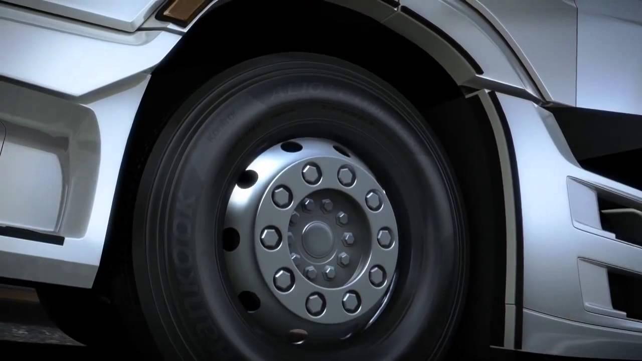 Is Hankook the current UK truck tyre market leader?
