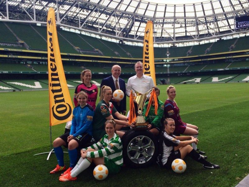 Continental title sponsor for Irish women's football league