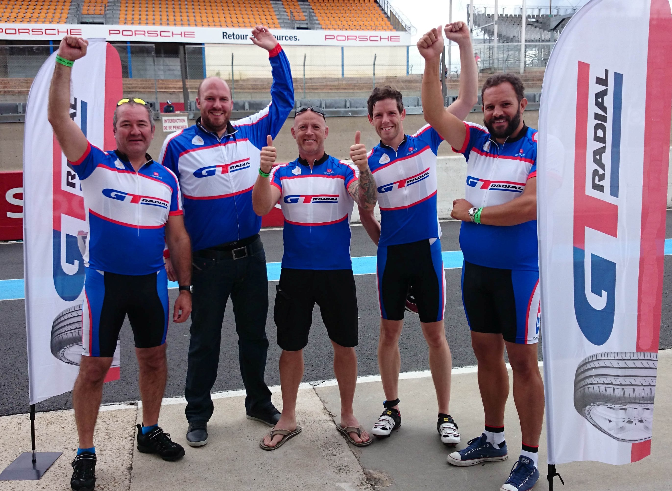 Giti Tire completes Le Mans 24 Hour Cycle Race