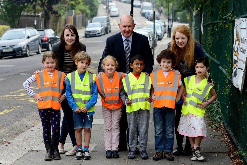 Bridgestone, Brake survey shows 1/3 parents witness near misses near schools