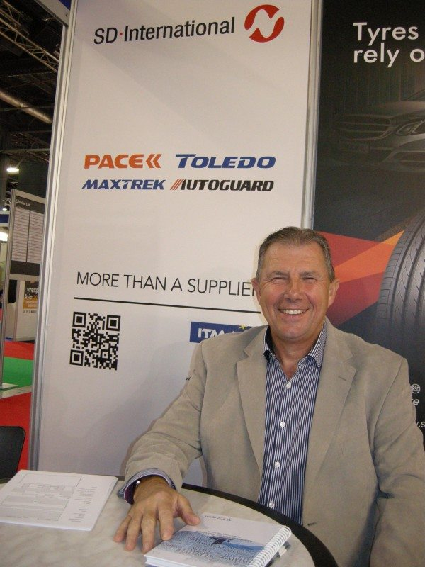 Andy Baron joins SD-International, Toledo range introduced