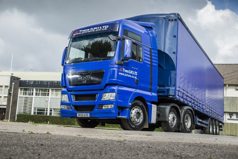 Michelin keep J. C. Trans (UK) on the road
