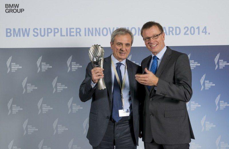 Pirelli wins BMW Supplier Innovation Award