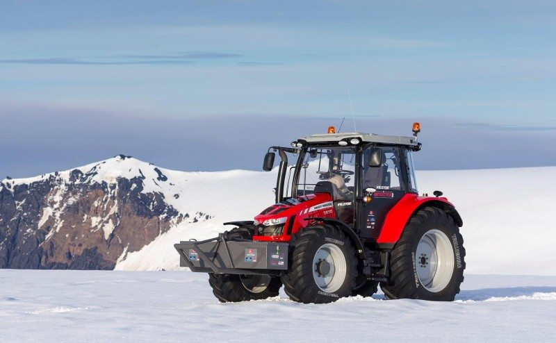 Trelleborg, Tractor Girl and Massey Fergusson prepare for South Pole expedition