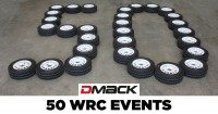 Dmack rounds corner on 50th event at Wales Rally GB