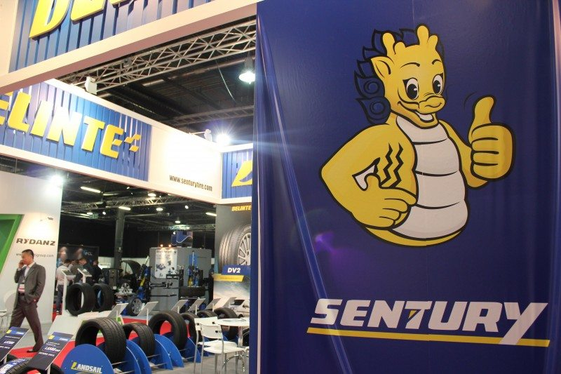 Not only has Sentury achieved very large production and sales volumes in a very short period of time, but the company also boasts some impressive European tyre labelling results