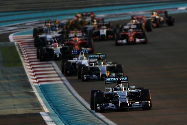 Hamilton stamped his authority on the decisive grand prix from the start