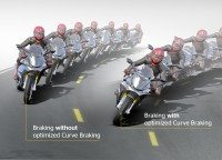 Braking in curves supported by Continental's latest motorcycle ABS