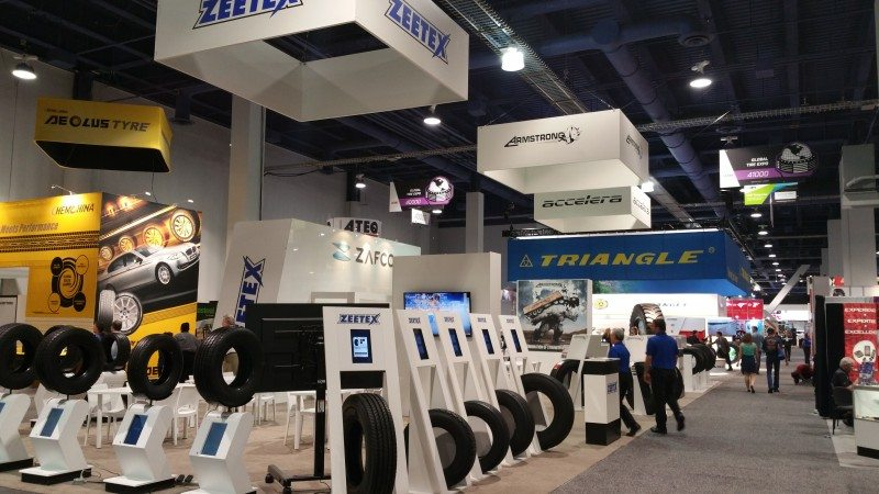 Zafco launches winter tyres, shows four brands at SEMA