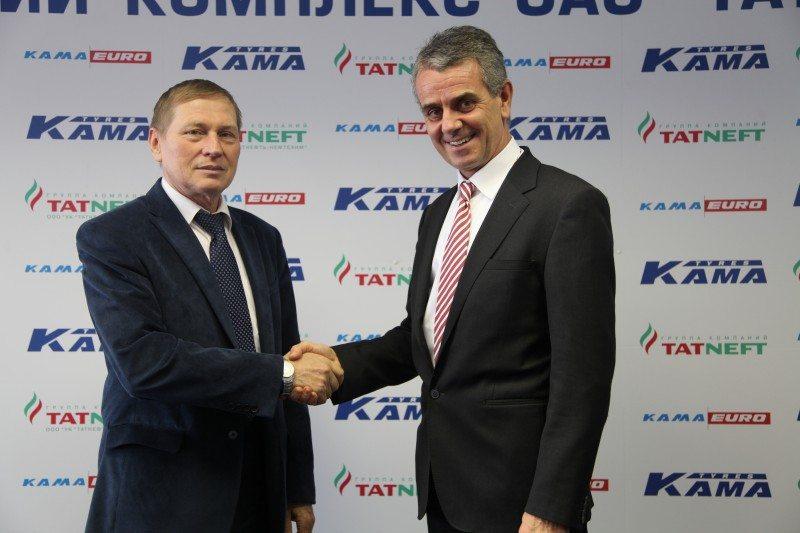 Marangoni, Tatneft to establish Russia retreading JV