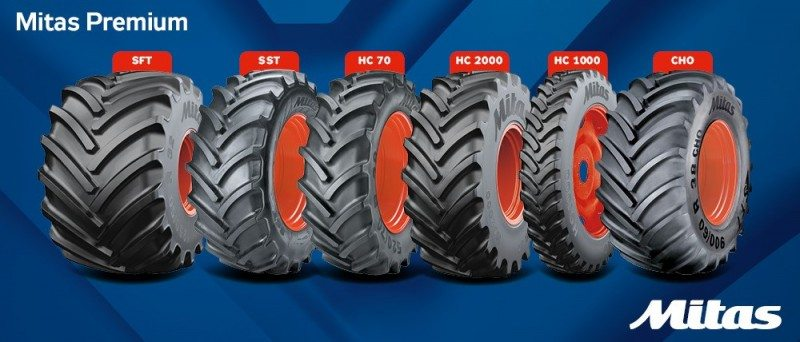 'Mitas Premium' announced at EIMA – Continental name to be phased out on OE agri tyres
