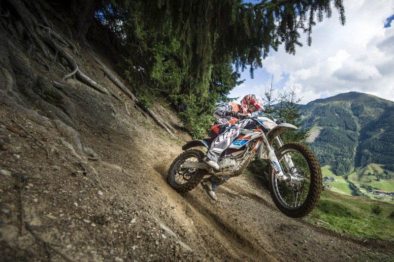 Chance to experience electric off-road motorbike