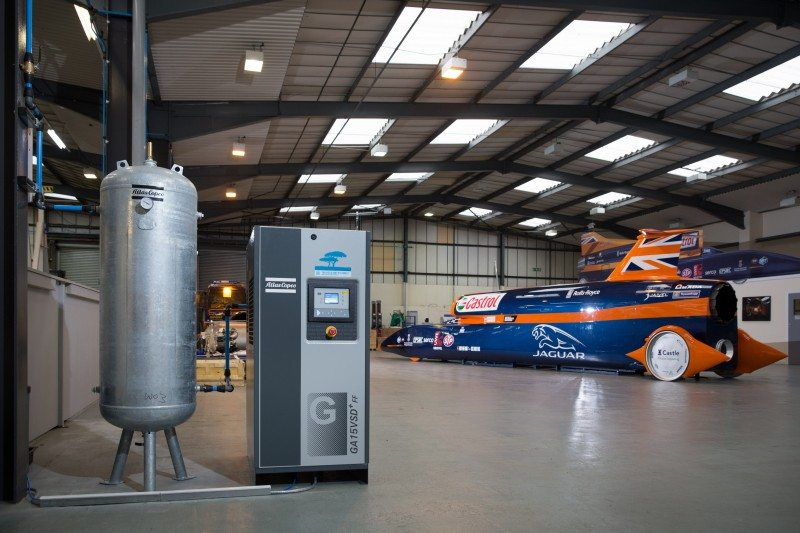 Atlas Copco boost Bloodhound Project