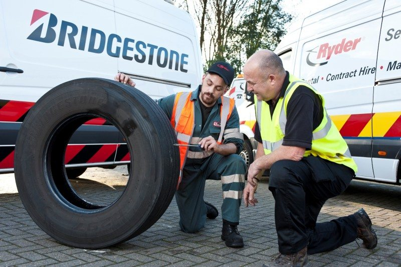 Bridgestone reduces Ryder's tyre-related call outs by 28%