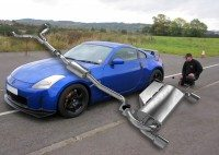 Klarius exhaust maintains performance for Nissan 350Z