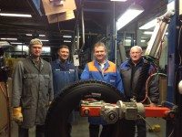 Reifen Müller makes millionth Ringtread Blackline
