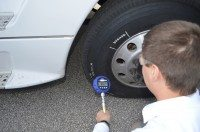 Goodyear's self-inflating truck tyres undergoing testing in North America