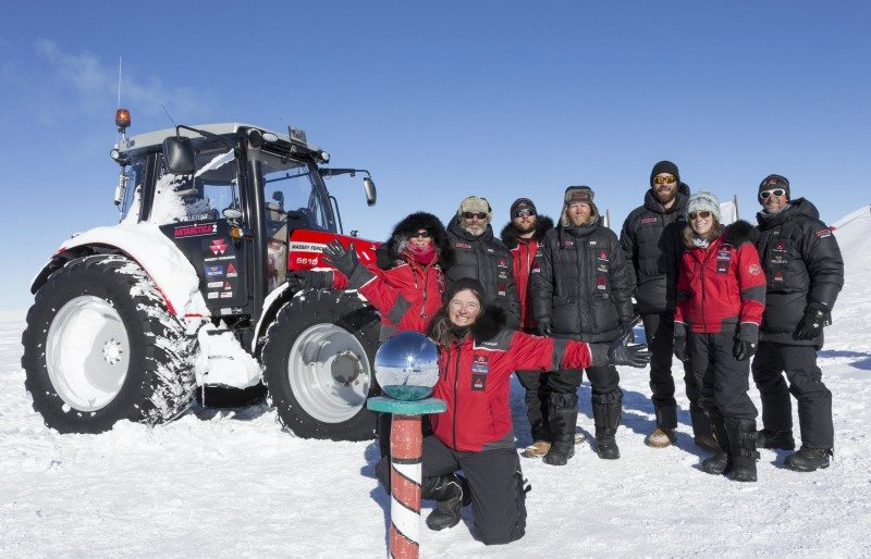 Trelleborg tyres bring Tractor Girl to South Pole