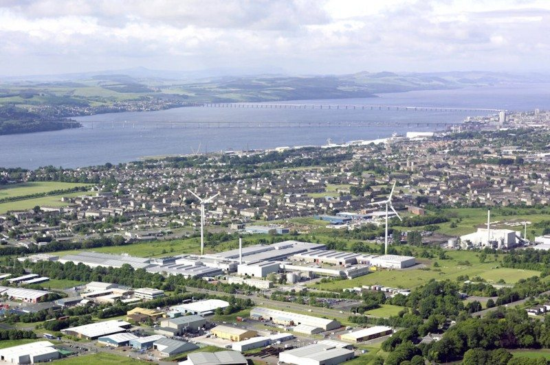 Michelin Dundee plans on display