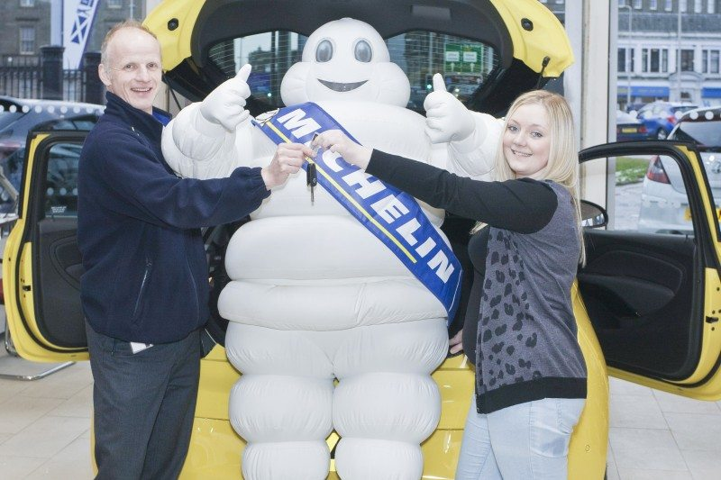 Michelin Young Driver wins Vauxhall Adam
