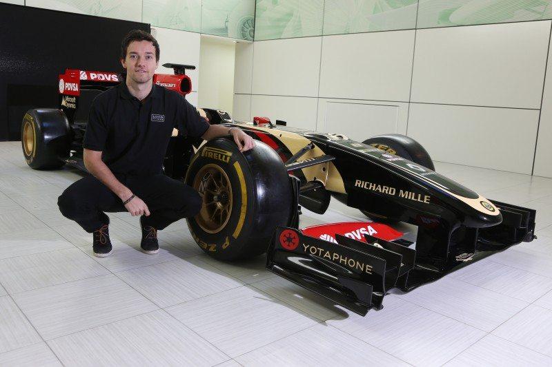 Jolyon Palmer joins Lotus as F1 test/third driver