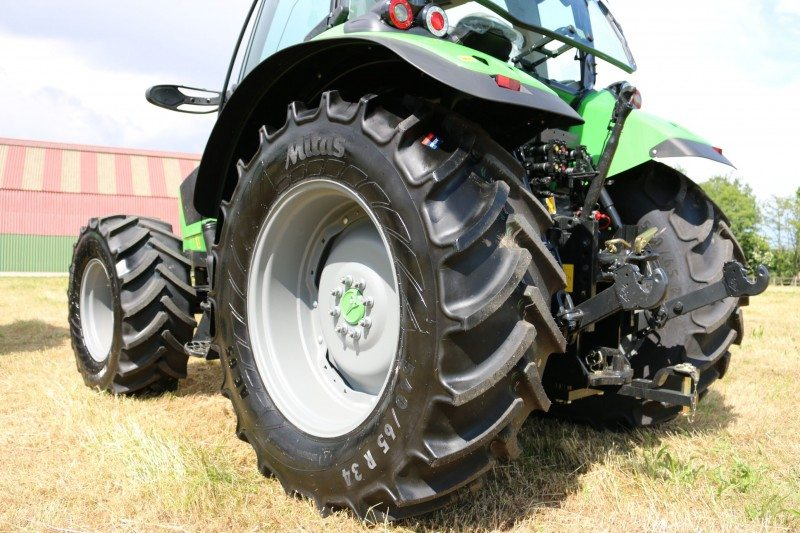 Agri machinery manufacturers now switching from Continental to Mitas Premium tyres