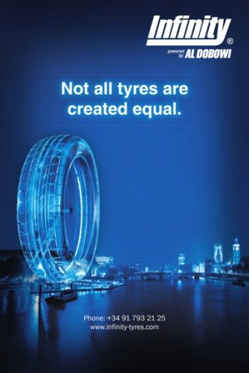 Tyre Accessories Banner Ad 400 x 600 pixels