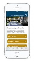 Tyre Safety Companion an Auto Express top motoring app