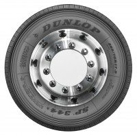 """Dunlop launches SP 344* 17.5"""" Truck Steer regional commercial vehicle tyre"""