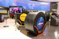 Mitas agricultural 'slick' tyre – 'designed by pullers for pullers'