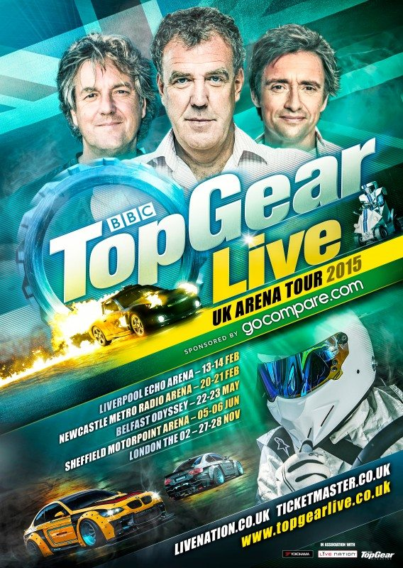 Yokohama confirms Top Gear Live supply deal
