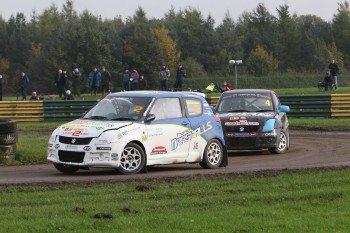 Suzuki Junior class of Rallycross also uses Advan A048 tyres