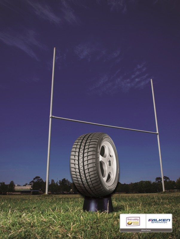 Falken Tyre partners with Rugby Super League