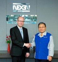 Czech PM visits Nexen's Changnyeong plant