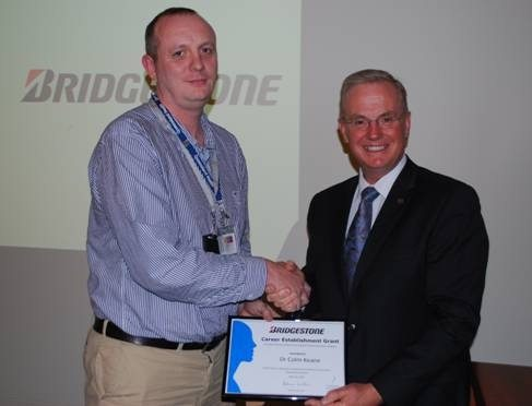 Leukaemia researcher receives first Bridgestone Australia Career Establishment Grant