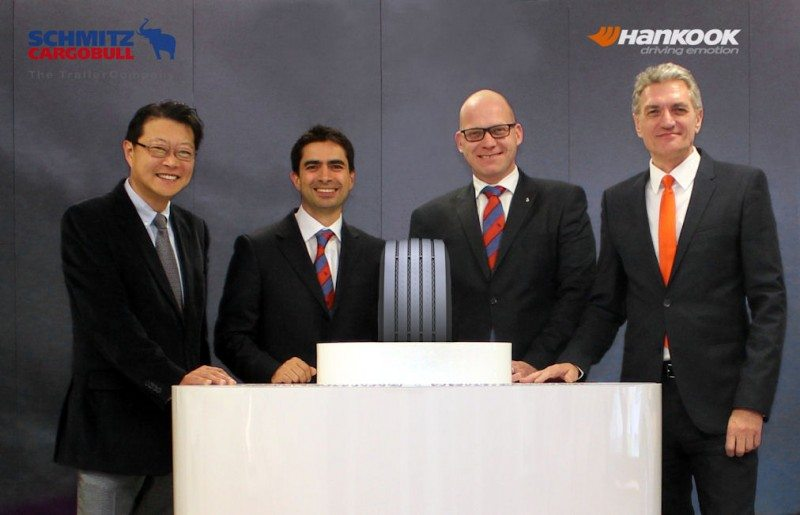 Hankook, Schmitz Cargobull sign OE tyre agreement