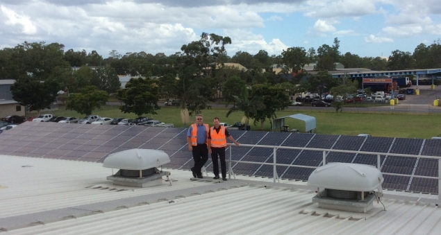 Solar systems installed at Australian Bandag retreading plant
