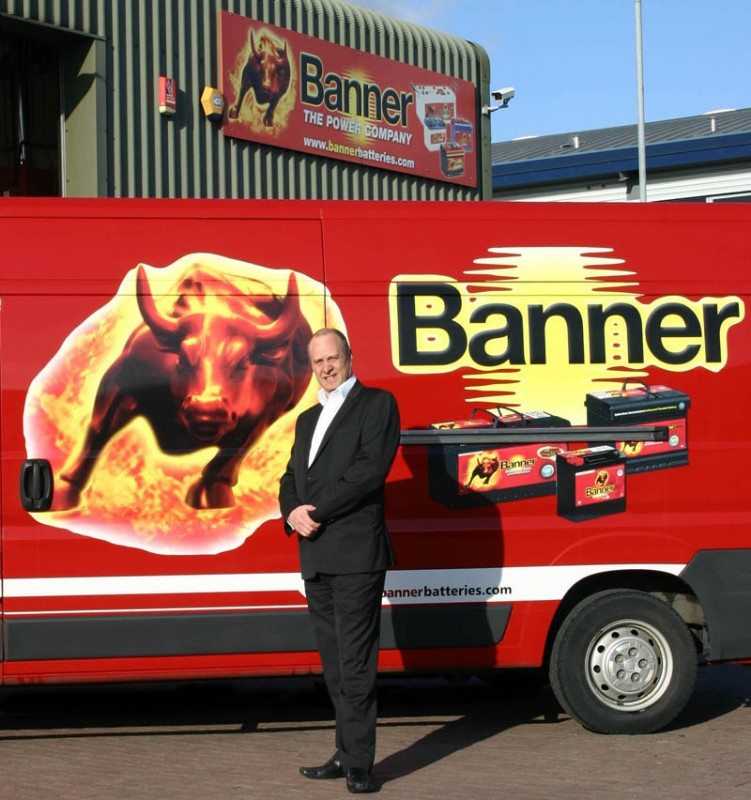 Lee Quinney is spearheading Banner Batteries' expansion programme here in the UK