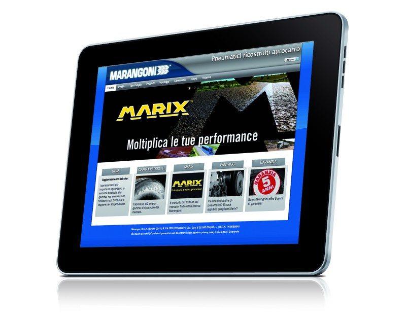 Marangoni Commercial Tyres upgrades website