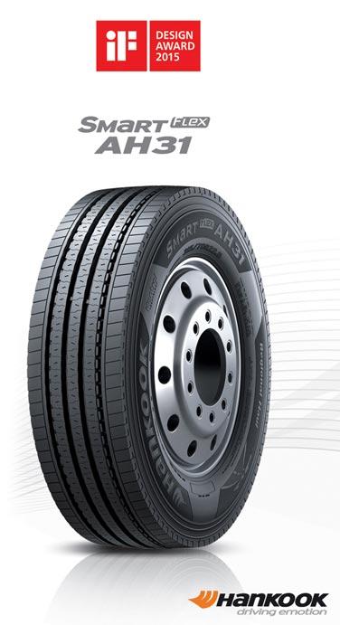 Hankook wins design award for SmartFlex AH31all-season truck tyre