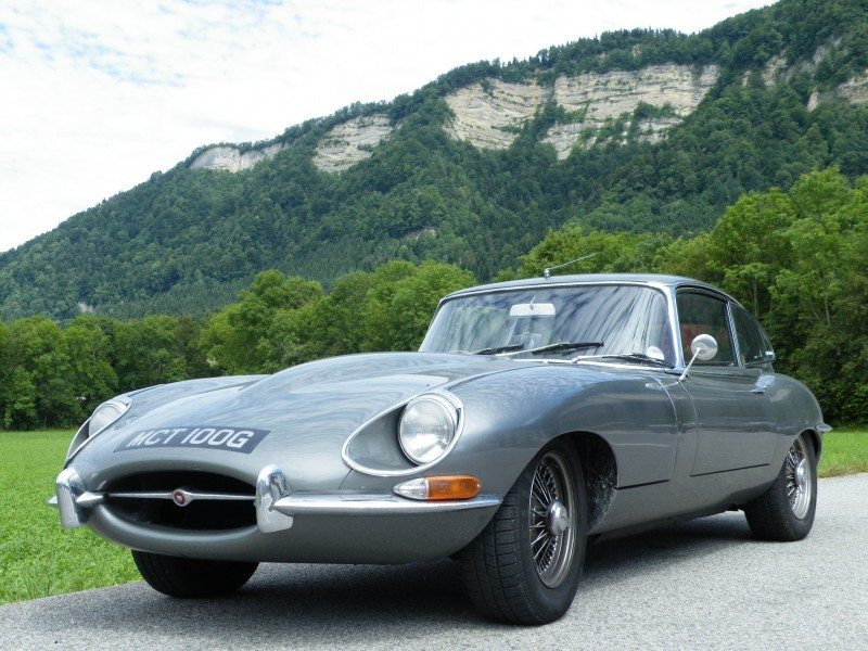 Jaguar E-Type voted the UK's favourite classic car