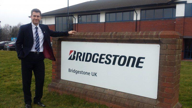 Guy Jones appointed Bridgestone North region business development manager