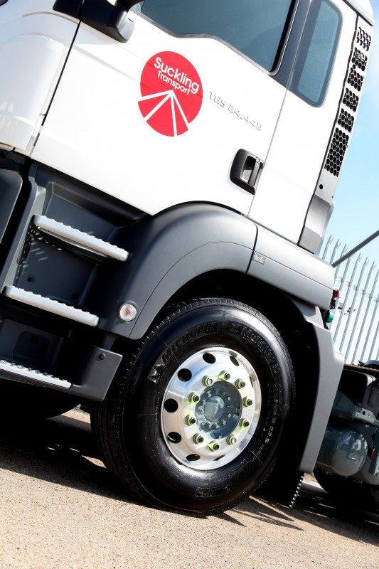Suckling Transport renews Michelin Solutions tyre management contract