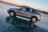 Michelin-shod VW Touareg sets speed record on ice
