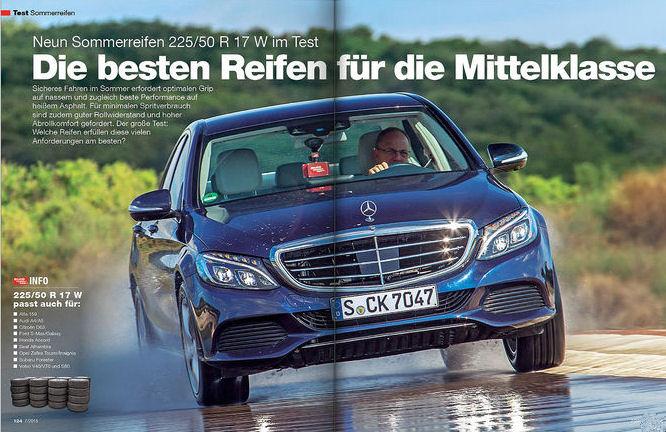 Tyre test results mock European label ratings