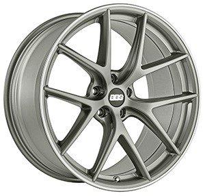 BBS presents CI-R rim in platinum silver