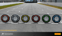 No room at the inn, and almost no tyres, for F1 teams